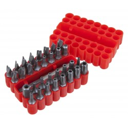 PERFORMANCE TOOL Screw Bit Set