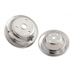 MR. GASKET Chrome Pulley...