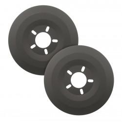 MR. GASKET Wheel Dust Shields