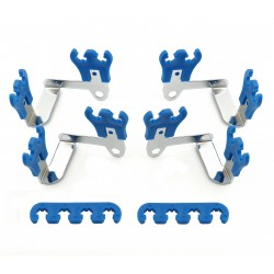 MR. GASKET Wire Loom Kit Blue