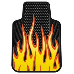 PLASTICOLOR Floor Mats Flames
