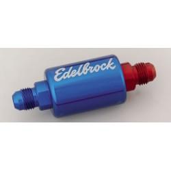 EDELBROCK Fuel Filter Blue