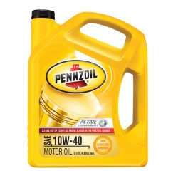 PENNZOIL 10W40 Motor Oil 5 Qt