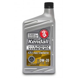 KENDALL GT1 0W20 Motor Oil...