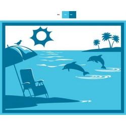 "FAULKNER Patio Mat ""Beach &..."
