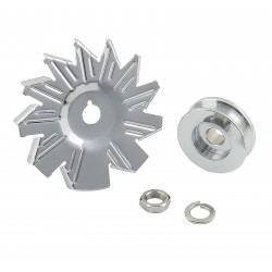 MR. GASKET Alternator Fan &...