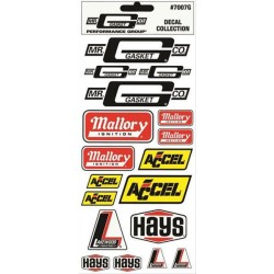 MR. GASKET Decal Assortment