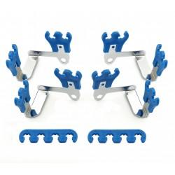 MR. GASKET Wire Loom Kit Blue